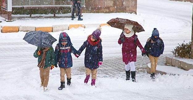 Son Dakika: Yarın 10 ilde eğitime kar engeli...