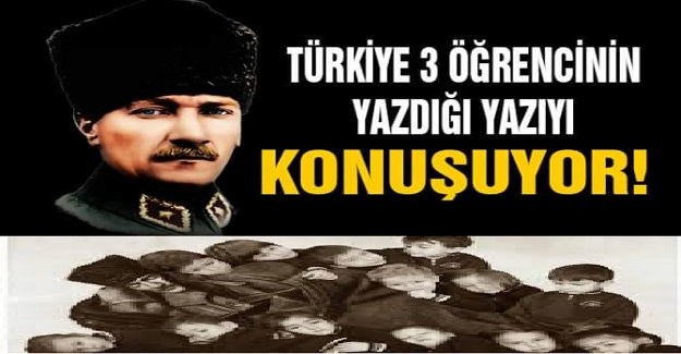 Türkiye 9. Sınıfa Giden 3 Öğrencinin Yazdığı Bu Yazıyı Konuşuyor: Mutlaka Okumalısınız