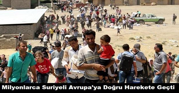 Türkiye Sınır Kapılarını Açtı: Milyonlarca Suriyeli Sınıra Doğru Harekete Geçti