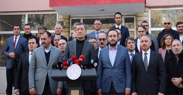 """""""Yarın Elazığ'da okul zili çalacak"""""""