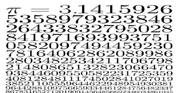 Bugün dünya matematik günü. Sebebi ise 3,14...