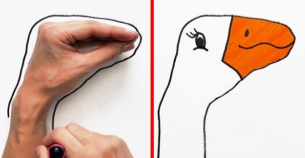 Korona Tatilinde Evde Çocuklarınızla Yapabileceğiniz Basit Çizimler