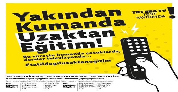 TRT-Eba Tv Uzaktan Eğitim Yayınları Digiturk ve D-Smart Platformlarında Erişime Açılacak