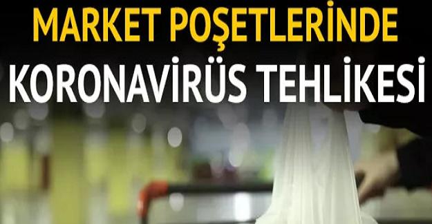 Aman Dikkat! Market Poşetlerinde Korona Virüsü Tehlikesi.