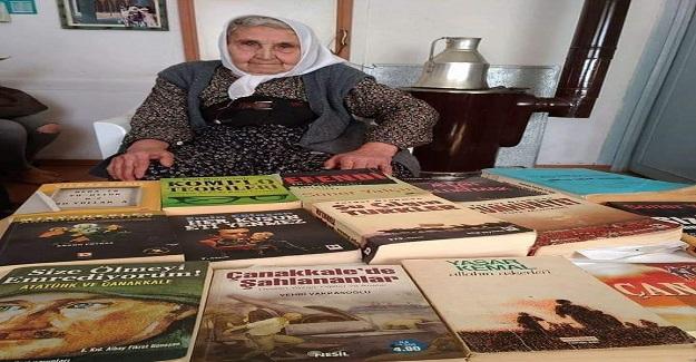 İlkokul Mezunu 83 Yaşındaki Müzeyyen Kanal Tam Bir Kitap Kurdu