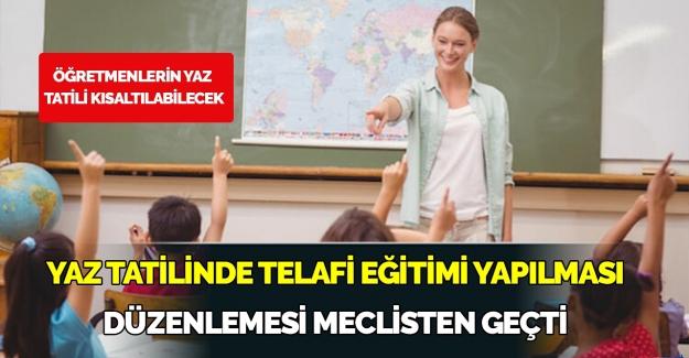 Öğretmenlerin Yaz Tatili Kısalıyor ve Eğitimde Yaz Telafisi Geliyor