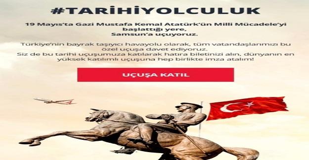 19 Mayıs'ta Gazi Mustafa Kemal Atatürk'ün Milli Mücadele'yi başlattığı yere, Samsun'a uçuyoruz.
