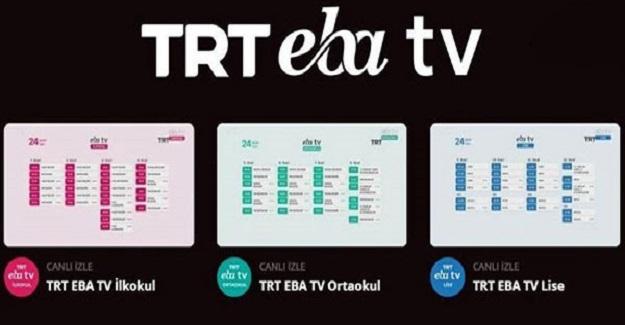 EBA Tv'ye Yepyeni Bir Yenilik Eklendi