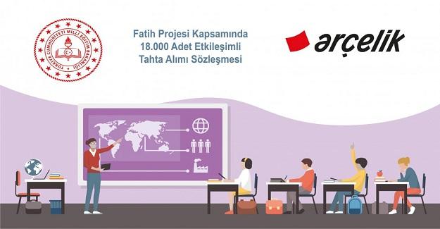 Milli Eğitim Bakanlığı 18.000 Bin Adet Yeni Akıllı Tahta Aldı