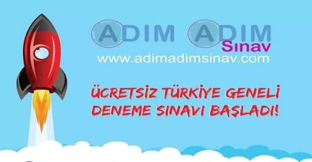 ÜCRETSİZ TÜRKİYE GENELİ ONLINE DENEME SINAVI BAŞLADI!
