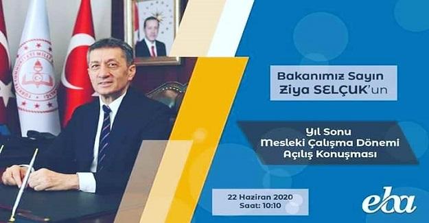 2019_2020 Eğitim Öğretim yılı Öğretmen Camiamızın yıl sonu online seminer dönemi başladı.