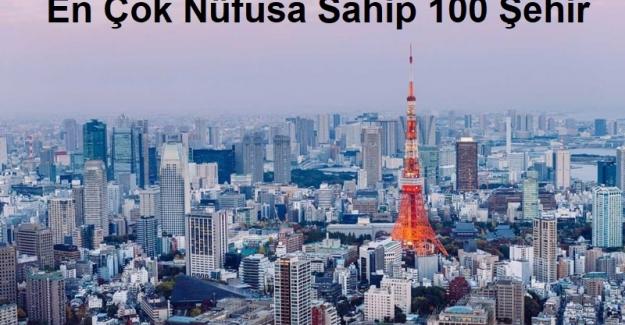 Dünyanın En Çok Nüfusa Sahip 100 Şehri. Bilin Bakalım İstanbul ve Ankara Kaçıncı Sırada?