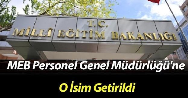 Hamza Aydoğdu'dan Boşalan MEB Personel Müdürlüğü Koltuğuna Gelen isim Belli Oldu