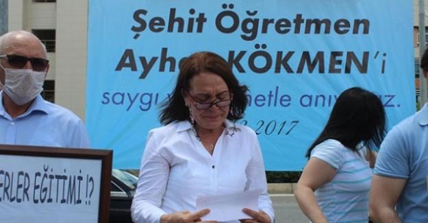 Öğrencisi Tarafından Öldürülen Öğretmen Ayhan Kökmen'in Eşi Ayşe Kökmen Eşi İçin Şehitlik Unvanı İstedi
