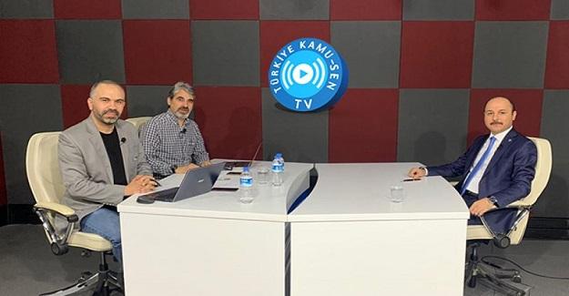 Türk Eğitim Sen Genel Başkanı Talip Geylan : Şehit öğretmenlerimize minnettarız.