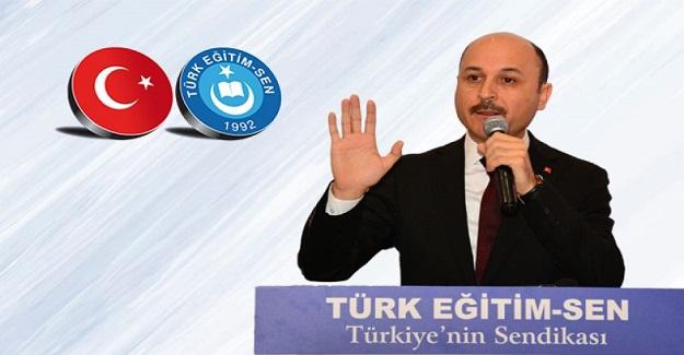 Türk Eğitim Sen: Öğretmenlik Meslek Kanunu çıkarılmasını destekliyoruz.