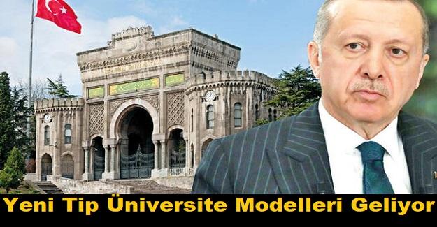 YÖK Başkanı Yekta Saraç Cumhurbaşkanı Erdoğan'a Sundu: Yeni Tip Üniversite Modelleri Geliyor