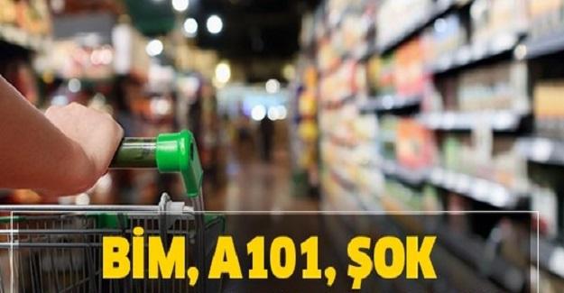 A 101'in, Bim'in ve Şok Marketlerin Türkiye'de Bulunan Mağaza Sayısı?