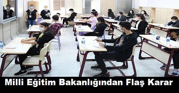 Milli Eğitim Bakanlığından Flaş Karar
