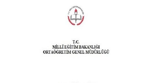 2020-2021 Yılı Destekleme ve Yetiştirme Kursları DYK için Resmi Yazı
