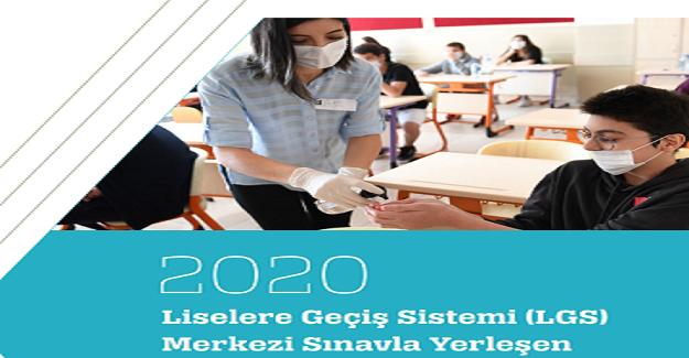 2020 LGS Merkezi Sınavla Yerleşen Öğrencilerin Performansı Raporu