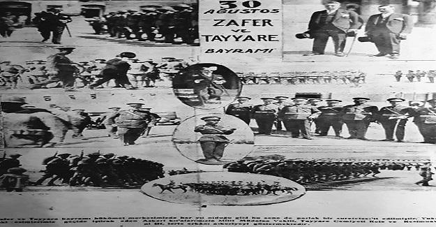 "30 AĞUSTOS ZAFER VE "" TAYYARE "" BAYRAMI"