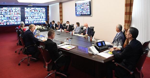 Bakan Ziya Selçuk, 81 ilin millî eğitim müdürüyle toplantı yaptı.