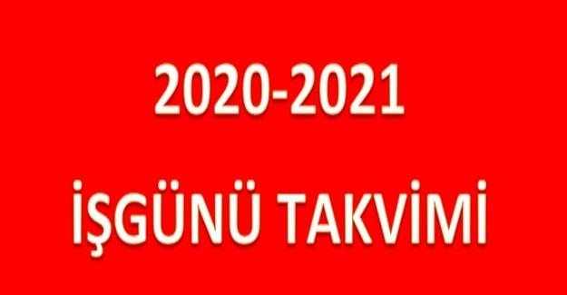 Milli Eğitim Bakanlığından 2020-2021 Eğitim Öğretim Yılı Çalışma Takvimi (Resmi Yazı)