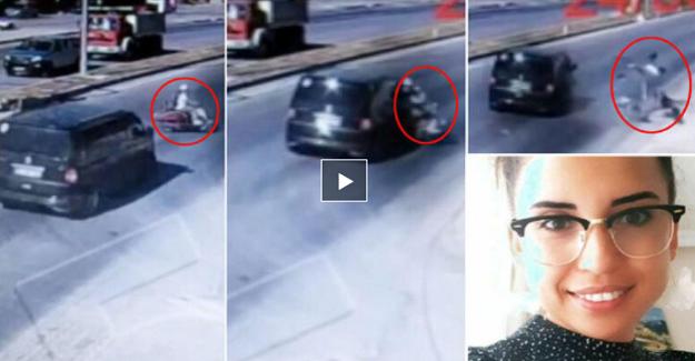 Trafik Kazasında Hayatını Kaybeden Pelin Öğretmenin Yaşadığı Dehşet Anları Kameralara Yansıdı