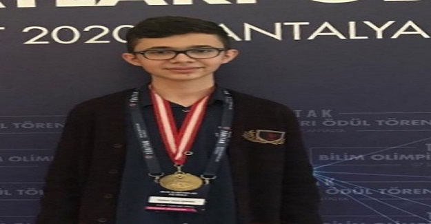 TÜBİTAK Bilim Olimpiyatlarında BİLSEM Öğrencisi Yunus Taha, Girdiği Tüm Sınavlarda Başarılı Olarak Madalya Aldı