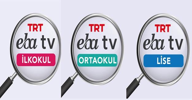 7-11 Eylül EBA Tv Ders Programı Yayınlandı