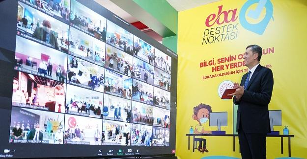 """""""EBA DESTEK NOKTALARI"""" UZAKTAN EĞİTİME ERİŞİMİN ÖNÜNDEKİ ENGELLERİ KALDIRIYOR"""