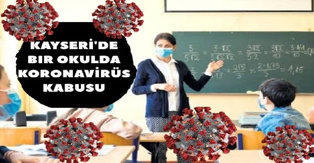 Öğrencide Corona Tespit Edilmesinin Ardından, Yapılan Test Taraması Sonrası 80 Kişide Virüs Tespit Edildi