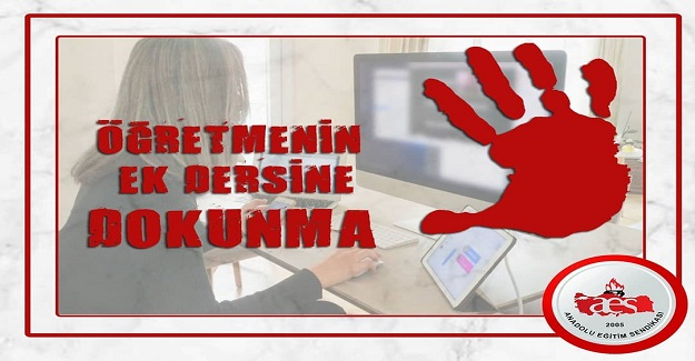 ÖĞRETMENLERİN EK DERS MAĞDURİYETİ KABUL EDİLEMEZ!
