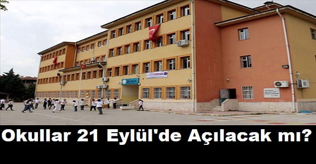 Okullar 21 Eylül'de Açılacak mı? Bakan Koca'dan Çok Önemli Açıklama