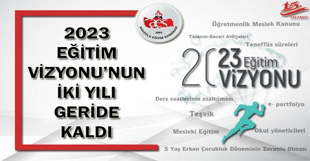 2023 EĞİTİM VİZYONU'NUN İKİ YILI GERİDE KALDI