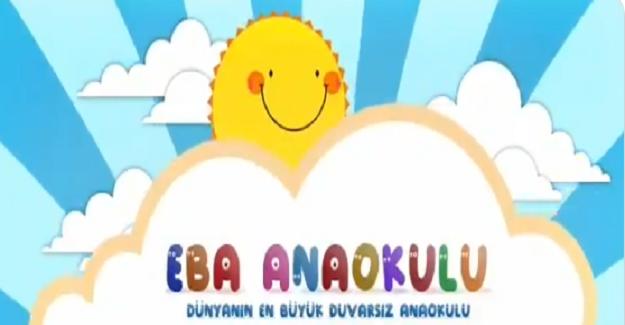 EBA Anaokulu TV Yayında