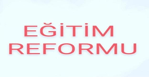 Eğitim Reformu!