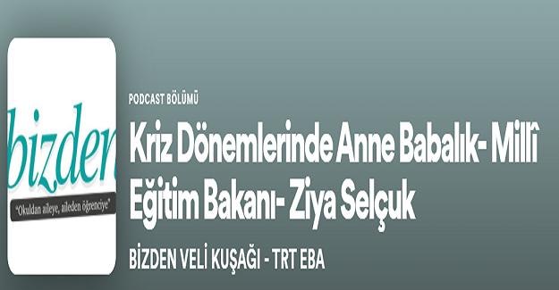 """MEB'DEN """"BİZDEN VELİ KUŞAĞI"""""""