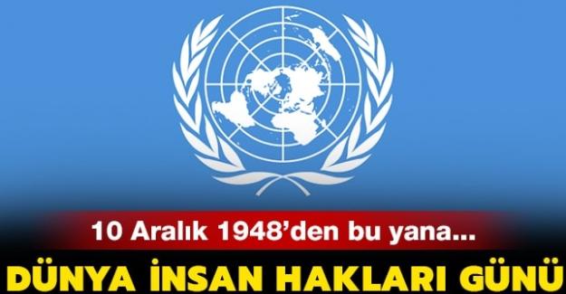 10 Aralık İnsan Hakları Günü ne zaman 2020