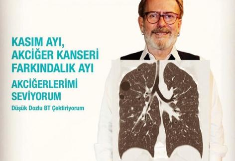 1-30 Kasım Akciğer Kanseri Farkındalık Ayı