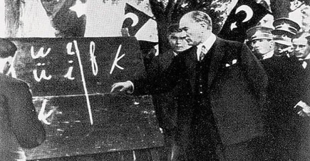 1 Kasım 1928 yeni alfabe kabul edildi.