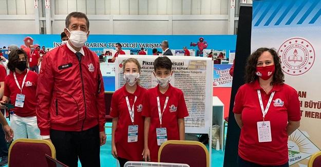 Bilim ve Sanat Merkezi öğrencileri, Teknofest'te Birincilik Getirdi