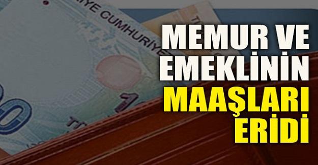 Enflasyon Karşısında Memur Maaşları Eridi
