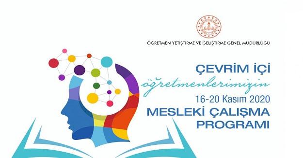 Öğretmenlerin 2020 Kasım Ara Tatil Dönemi Mesleki Çalışma Programı MEB Tarafından Yayınlandı