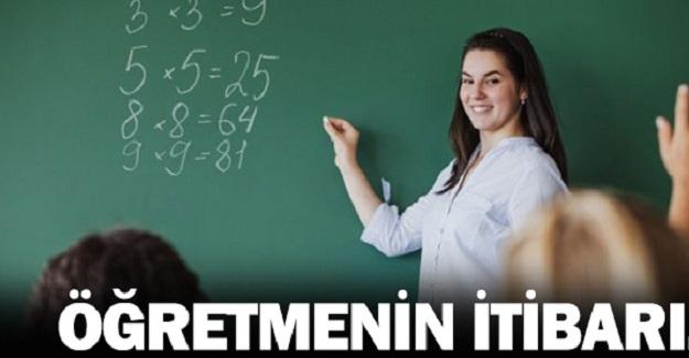 Öğretmenlerin İtibarı