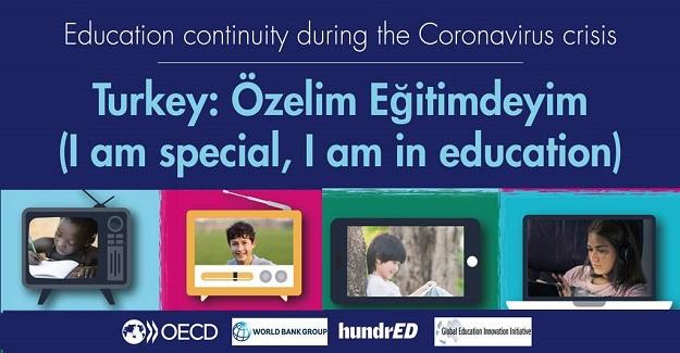 """""""Özelim Eğitimdeyim"""" mobil uygulaması, OECD tarafından tüm dünyaya örnek gösterildi."""