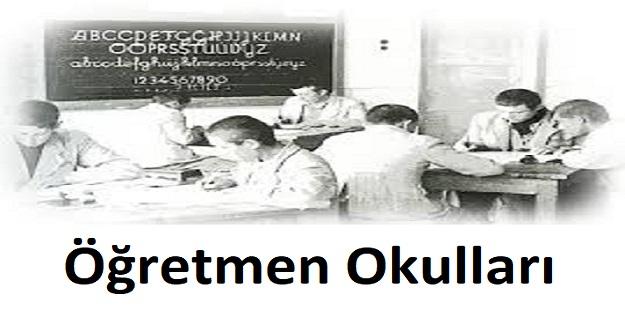 130 Yıllık Geçmişe Sahip Öğretmen Okulları