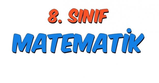 8. Sınıf Matematik 1. Dönem 1. Yazılı Soruları 2021