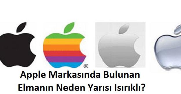 Apple Markasında Bulunan Elmanın Yarısı Neden Isırıklı?